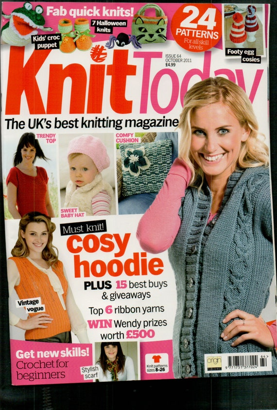 Knit Today Knitting Magazine Issue 64 October 2011