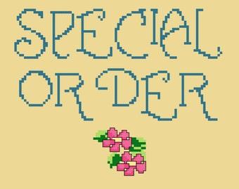 Special Order for Delia