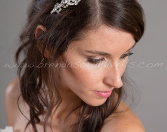 Rhinestone Bridal Headband, Crystal Headpiece, Wedding Headband - Mylinh