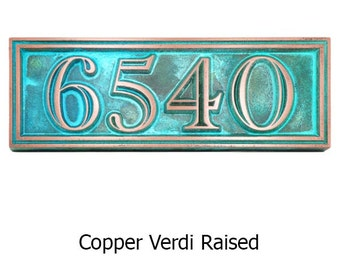 Address Plaque Home Numbers We call this beauty Hesperis 13 x 4.5 up to 4 house numbers
