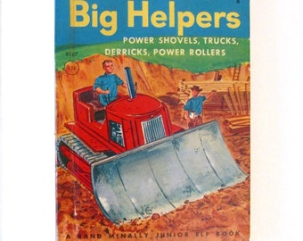 Big Helpers - 1953 - Rand McNally Junior Elf book