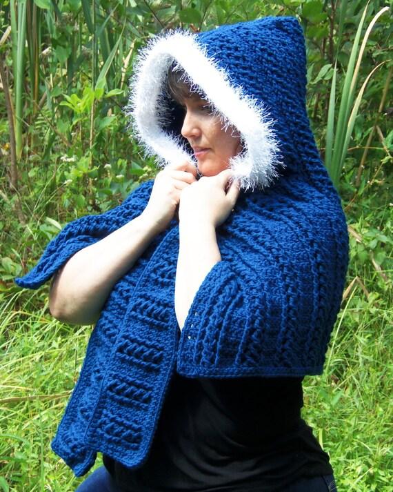 Crochet Pattern 097 - Braided Scoodie Wrap