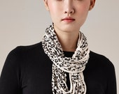 Scarves, Cotton Scarf, Leopard Print Scarf, Handmade Scarf, Cute Scarf, Ladies Scarf, Beautiful Scarves, Unique Scarf, Cowl, Winter, Gift