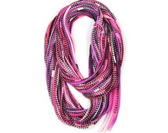 Infinity Scarves, Gift for Her, Pink Scarves, Winter, Winter Scarf, For Her, Birthday, Gift Ideas, Gifts, Tribal, Festival, Mens, Womens