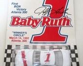 JEFF GORDON Nascar 1992 Atlanta Die-Cast Car Baby Ruth 1 Toy Rare Facsimile Autograph Vintage Hand Numbered