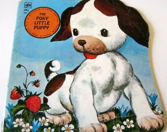 The POKY Little PUPPY Golden Book 1972 Classic Childrens's Collectible
