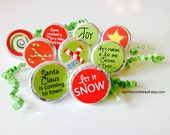 Christmas Hershey Kiss tags / Hershey Kisses / Candy Tags / Classroom Treat / Party Favor / Stocking Stuffers