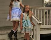 Girls Easter Dress, Girls Spring Dress, Girls Special Occasion Dress, Flower Girl Dress, Handmade Dress, Custom Spot