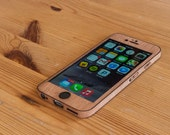 Mahogany iPhone 6 / iPhone 6S Case - Real Wood iPhone 6 Wrap - Classic Style
