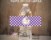 Gym Girls Party - Set of Gymnastics Water Bottle Labels by The Birthday House