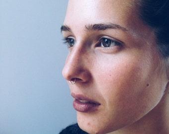 Stippled Septum / Nose Ring