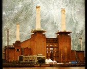 The Battersea Power Station  -  Fine Art Print - London Photography - Etsy Wall Art - TFTeam - London Landscape Photograph