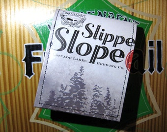 REDUCED PRICE Slippery Slope Wallet