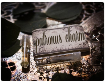 the patronus twins - natural perfume/cologne oil mini sampler in aroma of honey almond-caramelo