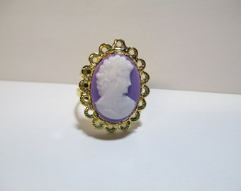 Vintage Cameo Ring DEADSTOCK
