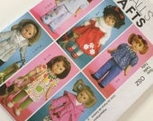 2008 McCalls M5775 - Sewing Pattern - 18 inch Doll