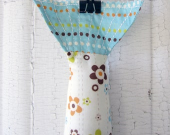 Plush Fabric Fish - Catch Of The Day - Flower Shower Design