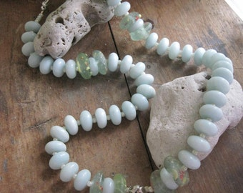 S/S MERMAID and Amazonite Necklace