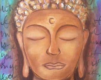 Trust in Your Magic // Buddha // Original Painting