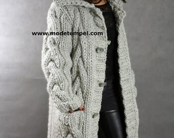thick Cardigan  hand knitting FOR ORDER ONLY