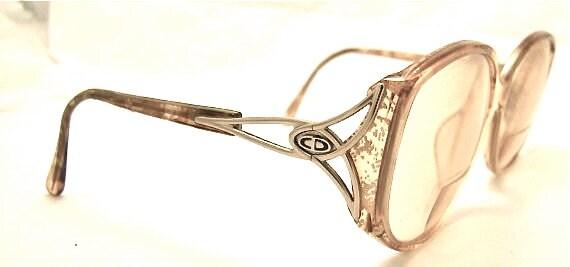 SALE 1980s DIOR Eyeglasses // 80s 90s Vintage Frames // Large Lens // style no 2709 // Christian Dior