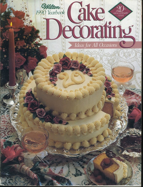 Wilton Cake Decorating Yearbook Dmost for