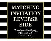 Matching Reverse Side Design -- Mommies Ink- PRINTABLE DESIGN