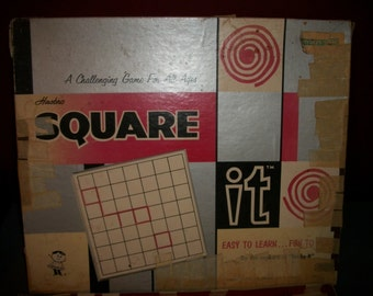 Vintage Square It Game by Hasbro