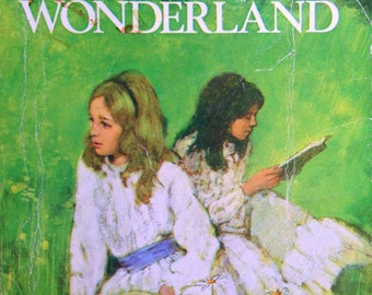 1969 ALICE in WONDERLAND Lewis Carroll Illustrated by TENNIEL Book
