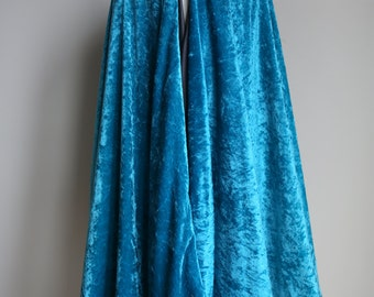Teal Hooded Cape