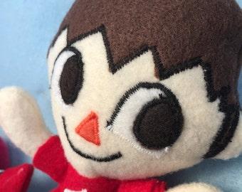 Animal Crossing Villager Plush Super Smash Bros Villager Plush Toy