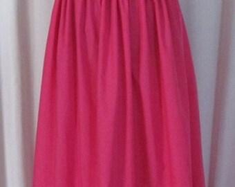 Plus Size Princess Bubblegum Full Skirt Costume Adventure Time Cosplay Adult Women's Size Custom Fit 16 18 20 22 24
