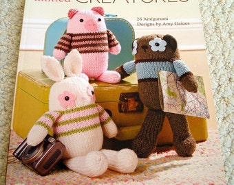 Little Knitted Creatures - Amigurumi Designs by Amy Gaines, Leisure Arts
