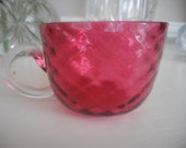 Cranberry Punch Glass