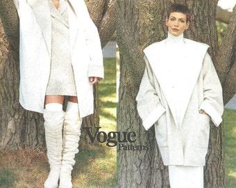 Vogue 1657 / Vintage Designer Sewing Pattern By Donna Karan DKNY / Jacket Coat / Size L XL / Bust 38 to 44
