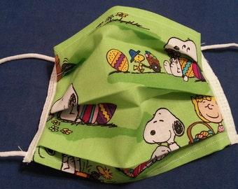 Snoopy and Friends -Germ Freak Designer Face Mask by Dena Tyson