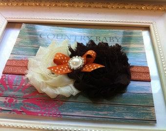 Fall Headband, Baby Fall Headband, Baby Headband, Autumn, Toddler Headband, Newborn Headband