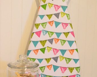 NEW!  Designer Ironing Board Cover - Michael Miller Party Bunting