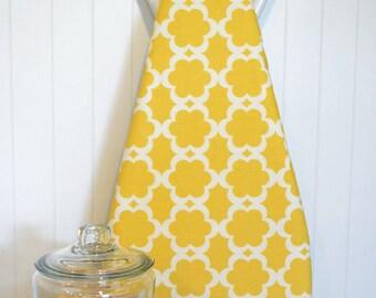 Designer Ironing Board Cover - Dena Designs - Tarika Yellow