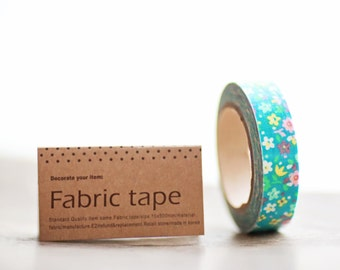 Fabric Tape VIVID FLORAL 16 yards