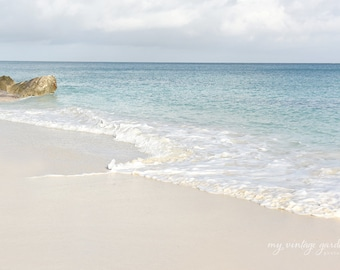 Bahamas beach - beach photography - sand-ocean photography - vacation photo- photo(5 x 7 Original fine art photography prints) FREE Shipping