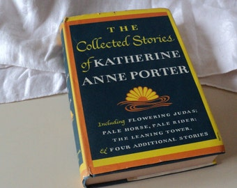 Katherine Anne Porter Collected Stories 1960s Vintage Book Fiction Literature