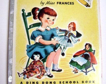 """A Ding Dong School Book- """"Dolls of Other Lands""""  by Miss Frances"""