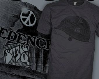 Creedence Clearwater Revival Band Shirt - John Fogerty - CCR Vietnam Swamp T-Shirt