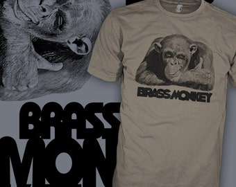Brass Monkey T Shirt - Beastie Boys Drink Shirt - Brass Monkey Song Shirt