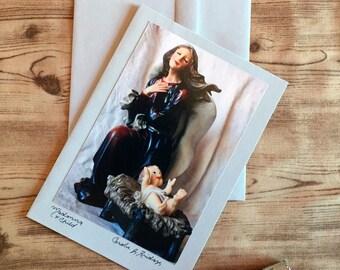 Christmas Card - Madonna & Child