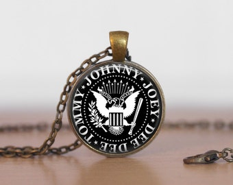 The Ramones Jewelry Pendant