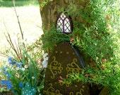 Large fairy Door Set, Fairy Garden kit, Garden fairy doors, fairy garden decor, fairy door kit, gnome door, woodland decor, outdoor decor