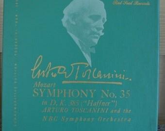 Mozart symphony Number 35 records