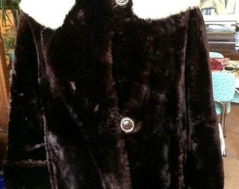Cozy SALE 25% 0FF Sheep Mink coat Was 120.00  Now 90.00
